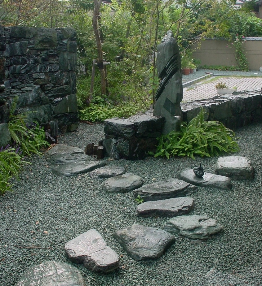 Japanese gardens shofukan projects for Japanese stone garden